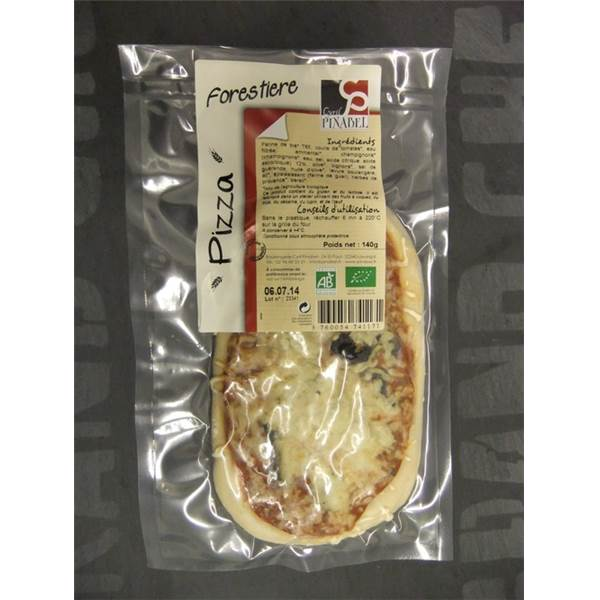 Pizza forestière 140g AB