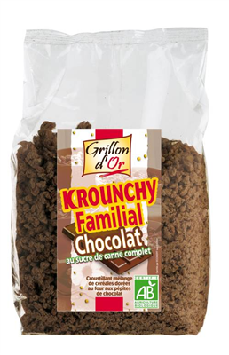 Krounchy familial chocolat AB