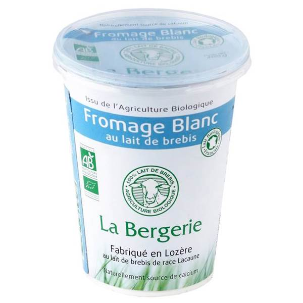 Fromage blanc brebis nature AB
