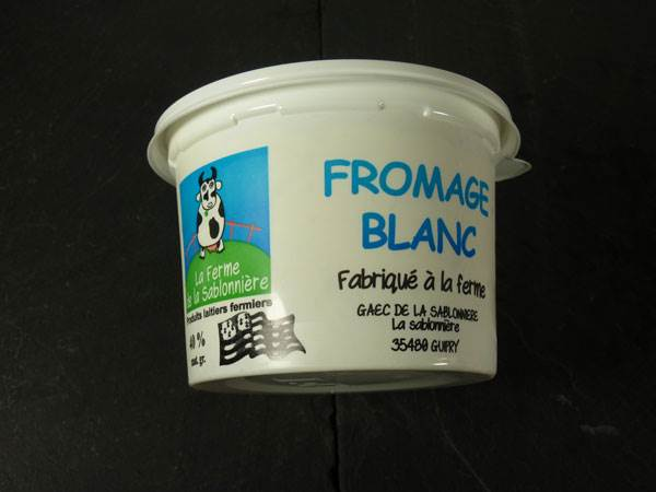 Fromage Blanc Lisse Fermier